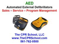 Florida AED Sales and AED Training